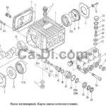 Pumping unit (designation for order – plunger pump for SZU-500)